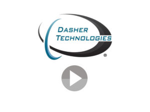 Dasher Video Play Button