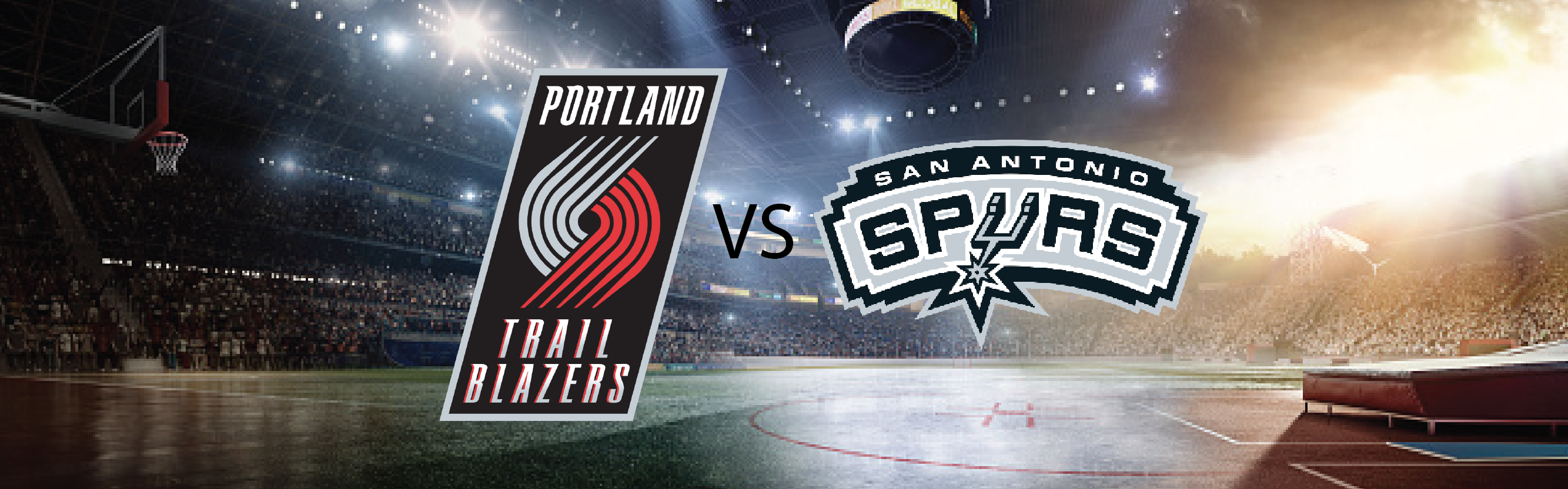 Portland Trail Blazers vs San Antonio Spurs with Hewlett Packard Enterprise – Portland, OR