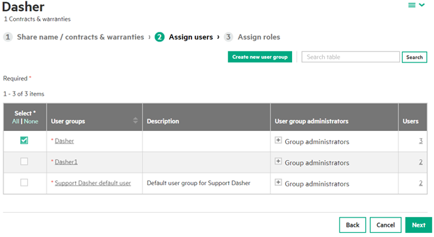 HPE-Support-Dasher