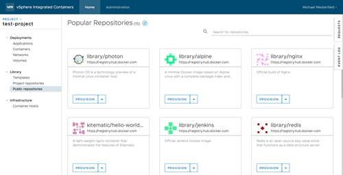vSphere-Container-Applications