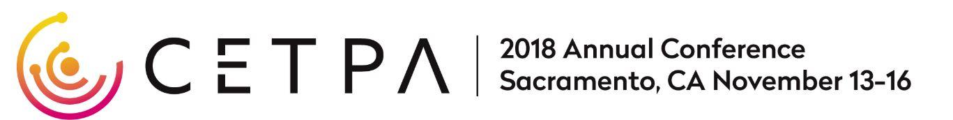 CETPA Annual Conference – Sacramento, CA