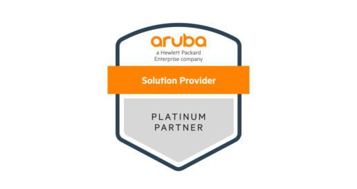 Aruba Bay Area Partner Platinum